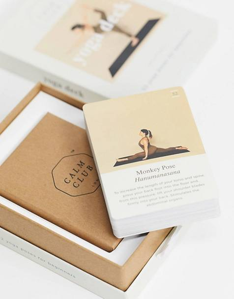 Calm Club - Cartes de yoga