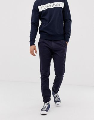 Calvin Klein – Chinos med normal passform