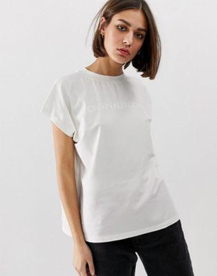 Calvin Klein - Institutional - T-shirt met vinyl logo