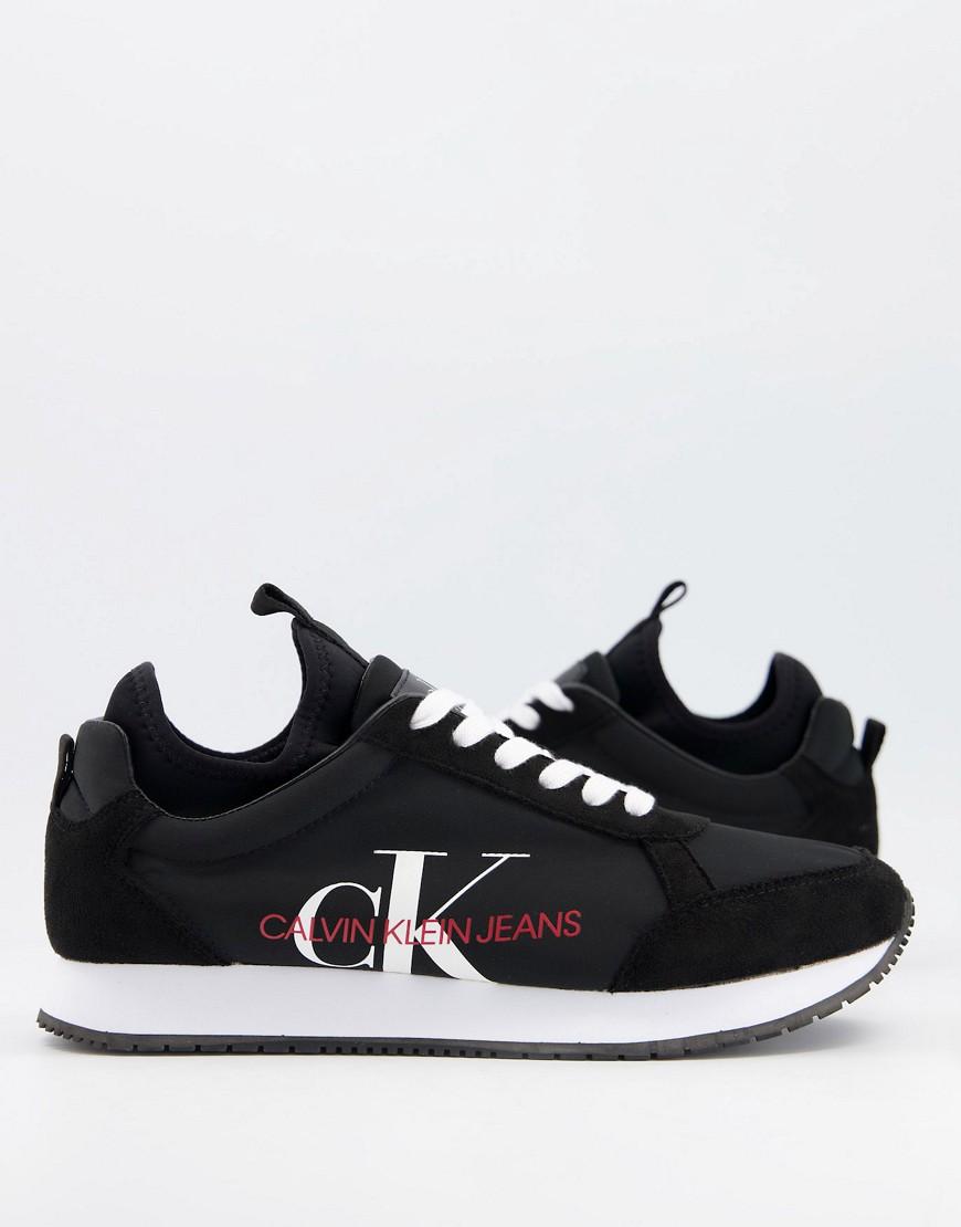 Calvin Klein Jeans - Jongi - Sorte sneakers
