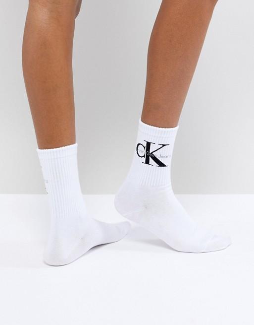 Bild 1 av Calvin Klein Jeans – Korta strumpor med logga