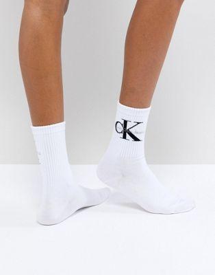 Calvin Klein Jeans Logo Short Sock