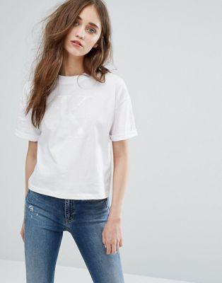 Calvin Klein Jeans Soft Touch Tonal Logo T-Shirt