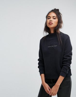 Image 1 of Calvin Klein Jeans Turtleneck Sweatshirt