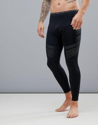 Calvin Klein - Leggings tecnici a compressione con logo