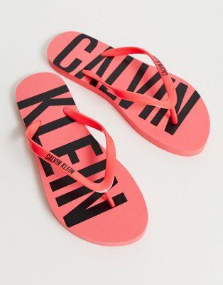Image 1 of Calvin Klein logo thongs