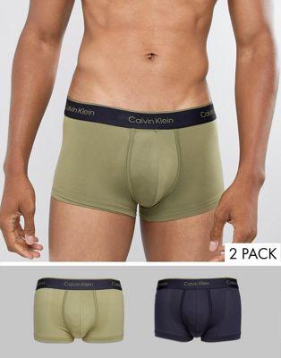 Calvin Klein - Set van 2 boxershorts met lage taille Pro Air