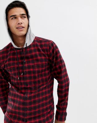 Camisa a cuadros con capucha de Another Influence