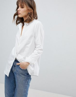 Camisa de algodón orgánico de Selected Femme