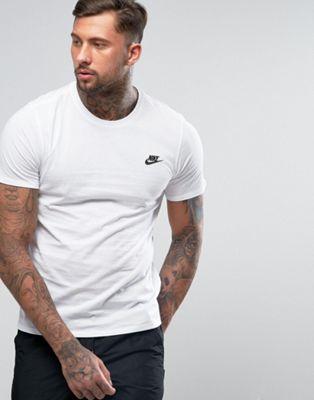 Camiseta blanca Futura 827021-100 de Nike