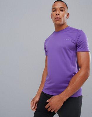 Camiseta violeta en tejido de secado rápido de ASOS 4505