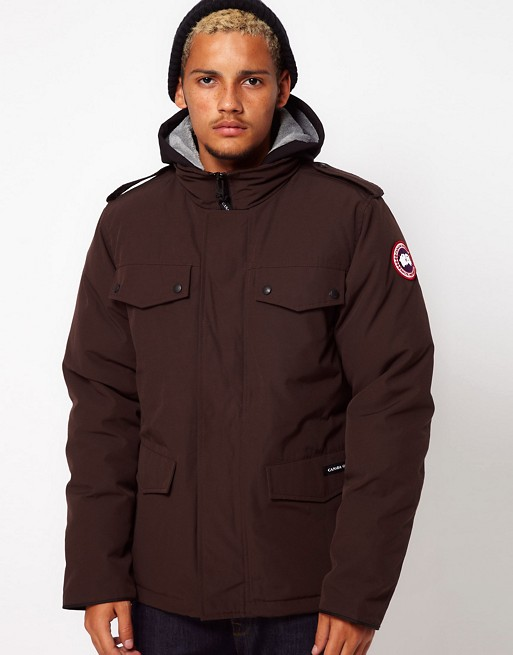 canada goose burnett jacket womens