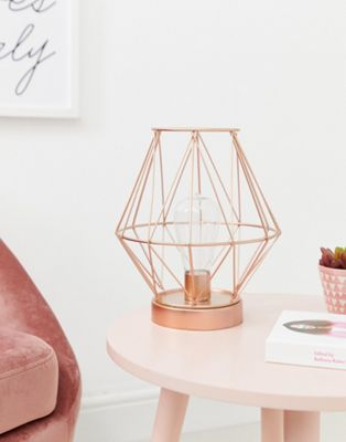 Image 1 of Candlelight rose gold lantern