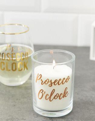 Candlelight – Roséguldfärgat prosecco-ljus