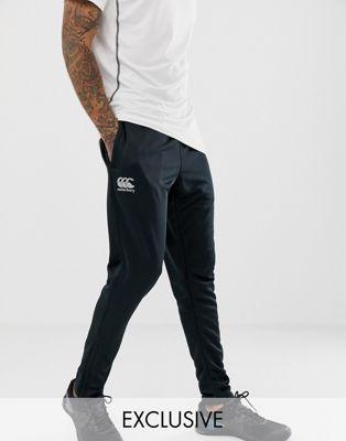 Canterbury - Pantalon de jogging stretch fuselé - Noir - Exclusivité ASOS