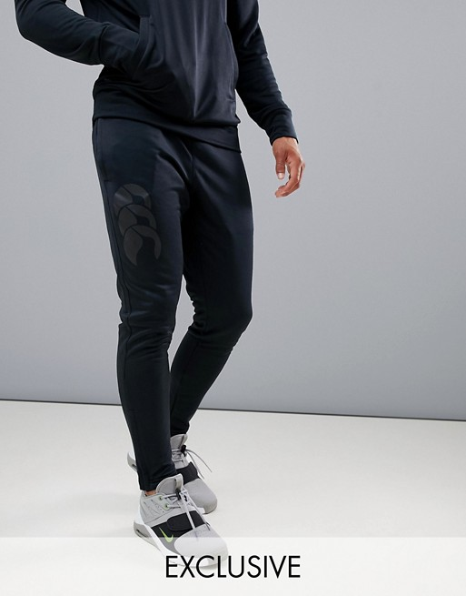 Image 1 of Canterbury Vapodri Tapered Stretch Pants In Black Exclusive To ASOS