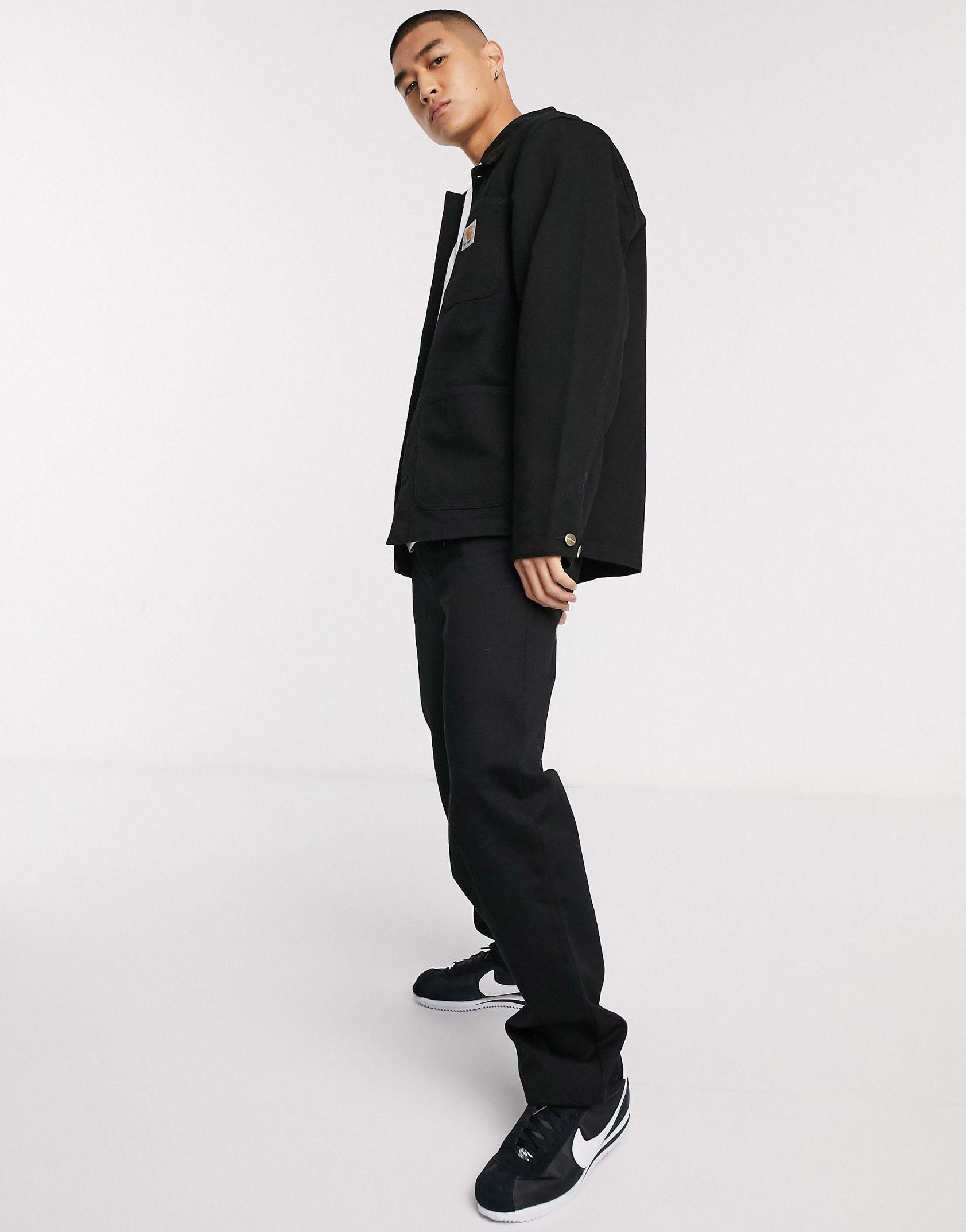 Carhartt WIP Michigan summer coat in black -  Price Checker