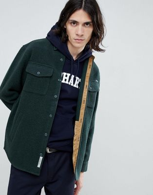 Carhartt WIP – Milner – Grön skjortjacka
