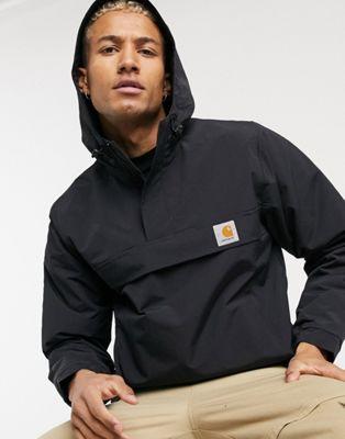 Carhartt WIP corduroy coach jacket in black - ASOS Price Checker