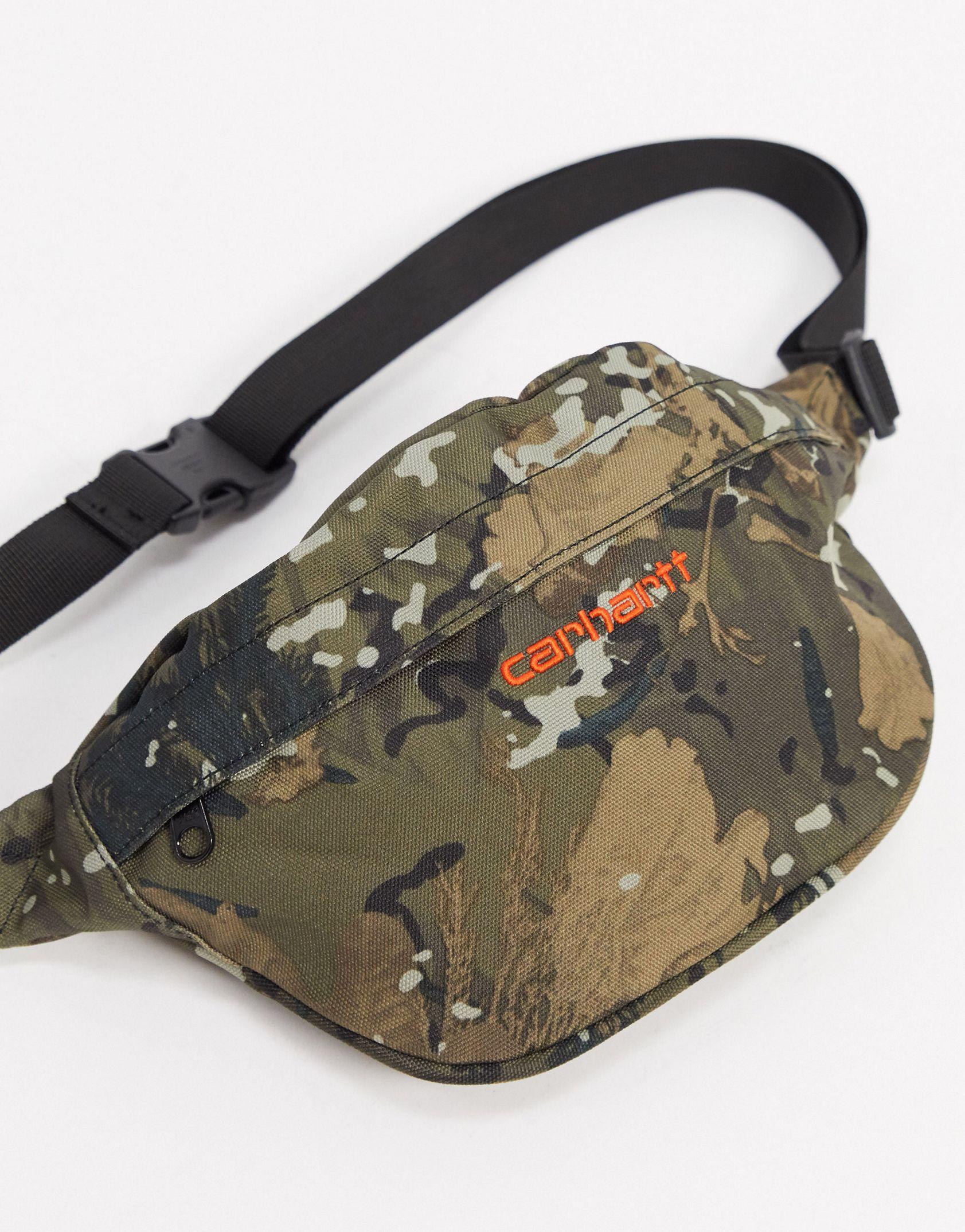 Carhartt WIP Payton hip bag in camo - ASOS Price Checker