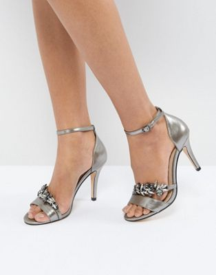 Carvela Barely There Jewelled Heeled Sandal