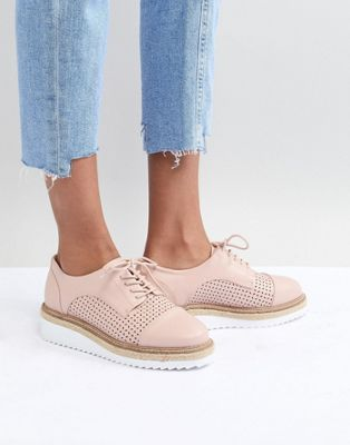 Carvela Eva Rope Lace Up Flat Shoe