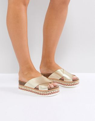 Carvela Flatform Sliders
