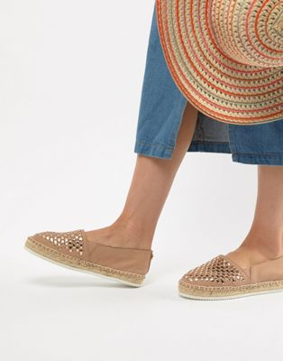 Carvela Mast Leather Espadrilles