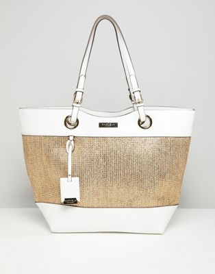 Carvela Raffia Shopper Bag