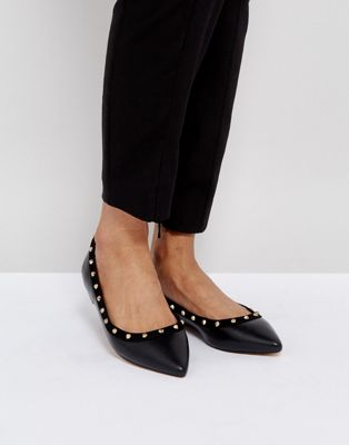 Carvela Stud Flat Point Shoe