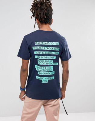 Cayler & Sons - T-shirt - Bleu marine