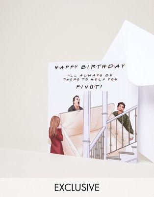 Central 23 – I'll Always Help You Pivot – Geburtstagskarte