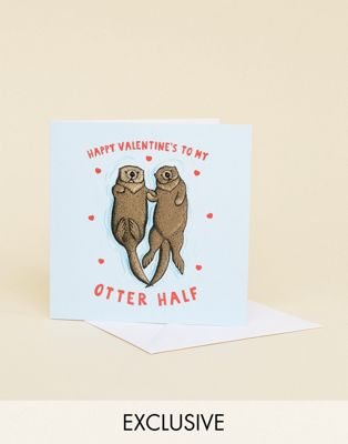 Central 23 My Otter Half Day Card