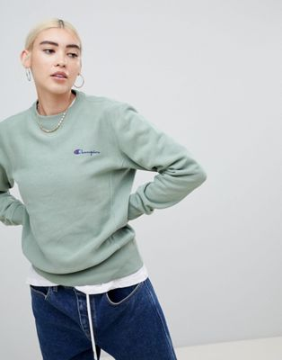 Champion Relaxed Sweatshirt With Small Script Logo