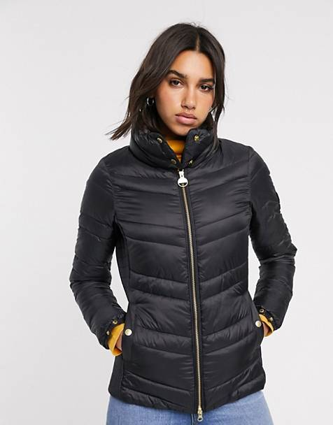 Chaqueta acolchada con cuello cruzado Rally de Barbour International
