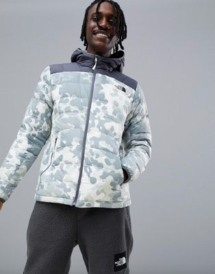 Chaqueta con capucha y diseño jaspeado estampado La Paz de The North Face