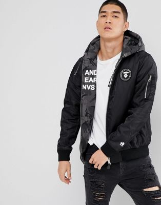 Chaqueta reversible de AAPE By A Bathing Ape