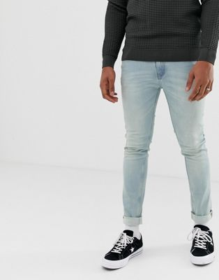 Cheap Monday – blå, tighta skinny jeans