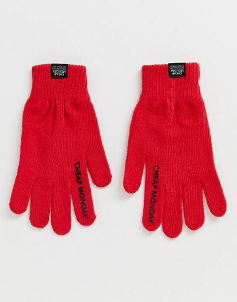 Cheap Monday branded gloves