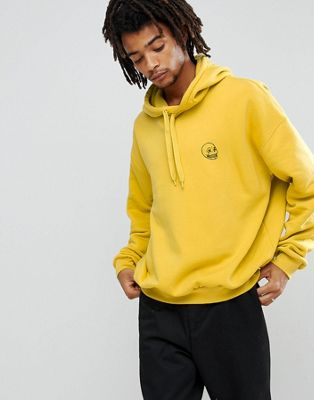 Cheap Monday Goal Hoodie in Yellow