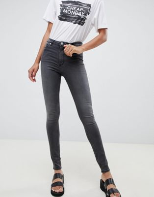 Image 1 of Cheap Monday High Snap Skinny Jeans