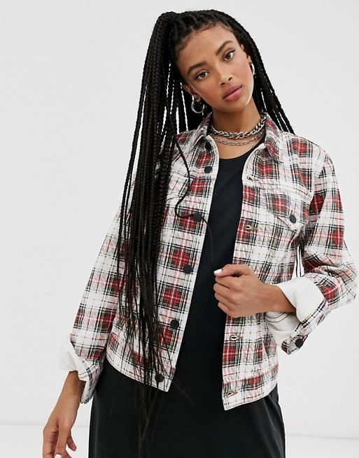Cheap Monday Legit checked jacket
