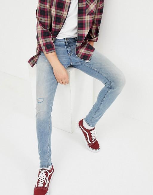 Bild 1 av Cheap Monday – Ljusblå superskinny jeans
