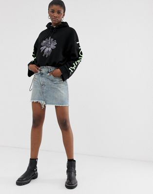 Image 1 of Cheap Monday organic cotton denim mini skirt