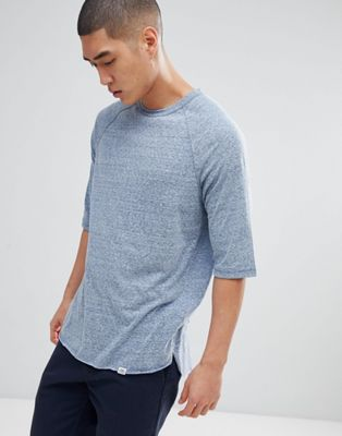 Cheap Monday Raglan Sleeve T-shirt with Curved Hem