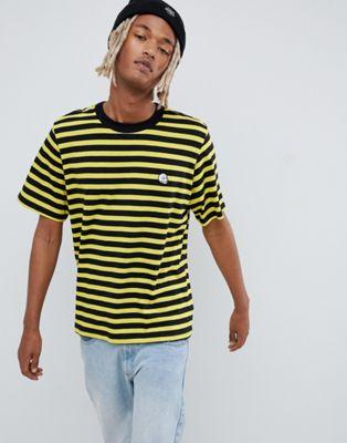 Cheap Monday – Randig t-shirt med logga
