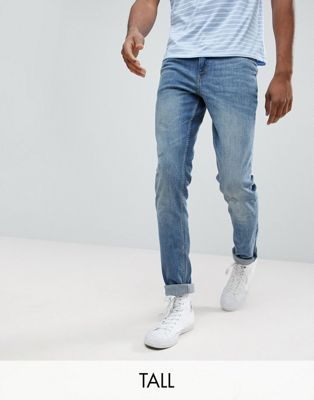 Cheap Monday TALL Tight Skinny Jeans Renew Blue