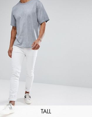 Cheap Monday TALL Tight White Skinny Jeans
