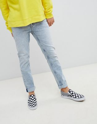 Image 1 of Cheap Monday Tapered Jeans In Blue