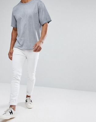 Cheap Monday Tight White Skinny Jeans
